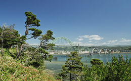 Bridge at Newport, Oregon Royalty Free Stock Photography