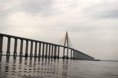 Bridge next to Manaus city Stock Photo
