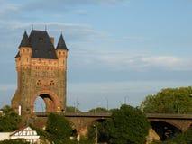 Bridge of Nibelungs Worms Stock Photo