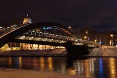 Bridge in the night Stock Photos
