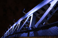 Bridge in night Royalty Free Stock Photo