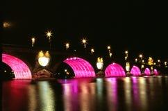The bridge in night Stock Photos