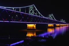 Bridge at night, Stock Photos