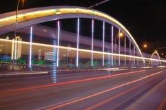 bridge by night Royalty Free Stock Photos