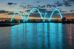 Bridge night scene Stock Photo