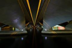 bridge night under στοκ εικόνα με δικαίωμα ελεύθερης χρήσης