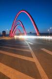 Bridge nightscape Royalty Free Stock Photo