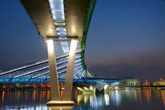 Bridge nocturne. The nocturne of Jifen Bridge in Taiyuan, Shanxi, China Stock Photo