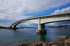 Bridge in Norway Stock Photo