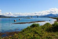 Bridge in Norway. Royalty Free Stock Image