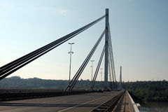 Bridge in Novi Sad, Serbia Royalty Free Stock Image