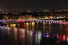 Bridge in Novi Sad Stock Images