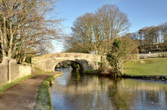Bridge Number 124 on the Lancaster Canal Royalty Free Stock Photos