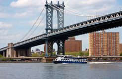 Bridge in NYC Royalty Free Stock Images