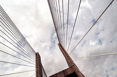bridge nyckeln Arkivbilder