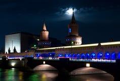 Bridge Oberbaumbrücke. Royalty Free Stock Photography