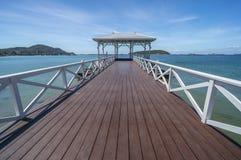 Bridge. Old bridge at Sichang island,Thailand Stock Photography
