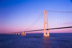 Bridge On Sunset Royalty Free Stock Images