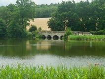 Bridge On The Lake Royalty Free Stock Images