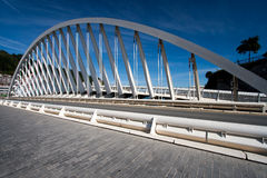 Bridge in Ondarroa, Bizkaia Royalty Free Stock Photography