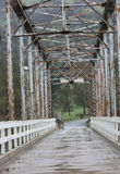 Bridge. One lane bridge from the gold rush days Stock Photos