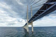 The bridge Oresundsbron Stock Image