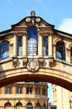 Bridge os Sighs, Oxford. Royalty Free Stock Photography