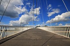 Bridge of Osijek, in Croatia Royalty Free Stock Photography
