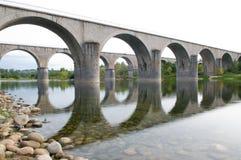 Bridge over the Ardeche Stock Photos