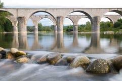 Bridge over the Ardeche Royalty Free Stock Images