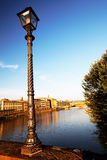 Bridge over Arno River, Florence Royalty Free Stock Photo