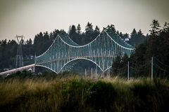 Bridge Over The Bay Royalty Free Stock Photography