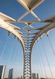 Bridge over the Blue Sky Royalty Free Stock Photos