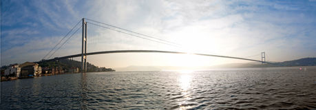 Bridge over the Bosporus Stock Photography