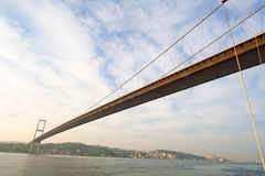 Bridge over the Bosporus Stock Images
