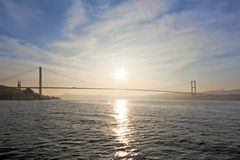 Bridge over the Bosporus Stock Photos