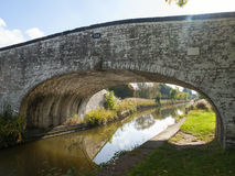 Bridge. Over canal in Cheshire UK Royalty Free Stock Photos