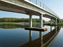 Bridge over a canal, Holland Royalty Free Stock Photography