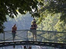 Bridge over Canal Saint-Martin, Paris royalty free stock image
