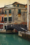 Bridge over canal in Venice Royalty Free Stock Photography