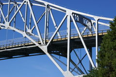 Bridge over the Cape Cod canal. Stock Images