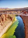 Bridge over Colorado River, Canyon Royalty Free Stock Image