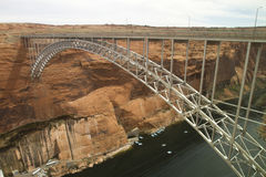 Bridge over Colorado River Stock Image
