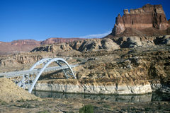 Bridge over Colorado River in Southern UT Royalty Free Stock Photography