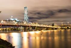 Bridge over Columbia river, Oregon Stock Photography