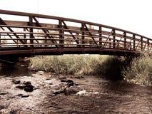 Bridge. A bridge over a creek Stock Photography