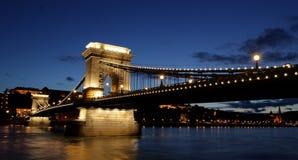 Bridge over the Danube Stock Photo