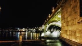Bridge in Budapest Royalty Free Stock Photos