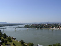 Bridge over Danube at Danube Bend Stock Photos