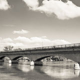 Bridge over drava Royalty Free Stock Photos